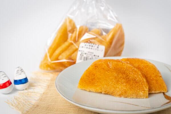 村の母ちゃん手づくりの伝統のお菓子。